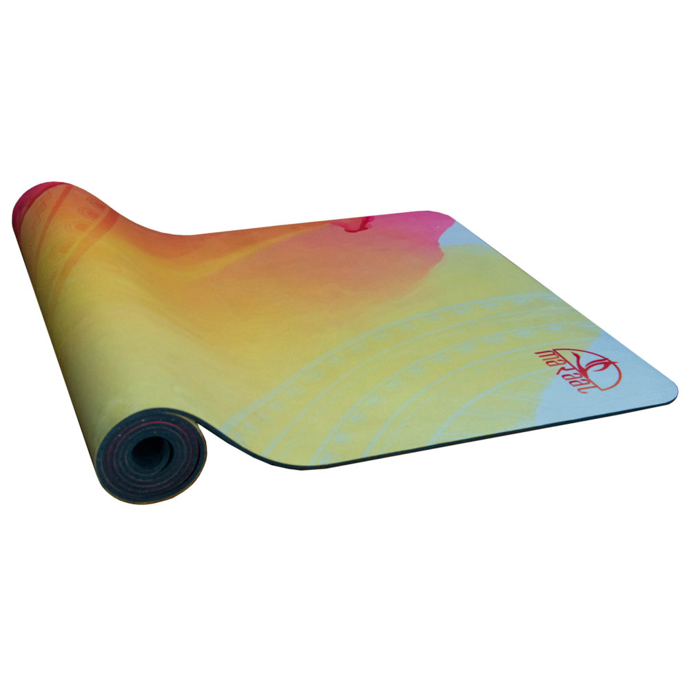 Umber – Durable Eco-Friendly Micro Fibre Suede and Natural Rubber Yoga Mat