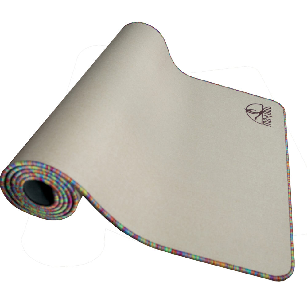SAN – Durable Eco-Friendly Jute Hemp and Natural Rubber Yoga Mat