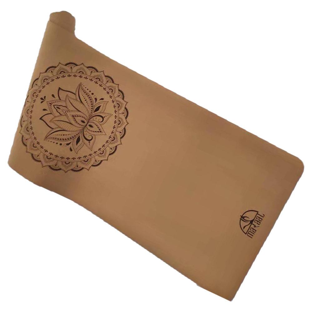 TARU Dedication – Durable Eco-Friendly Cork and Natural Rubber Yoga Mat